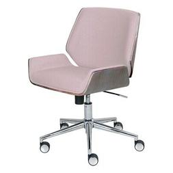 Elle Decor Ophelia Bentwood Task Chair in Pink