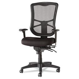 ** Elusion Series Mesh High-Back Multifunction Chair, Black