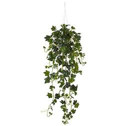 Nearly Natural English Ivy Hanging Basket Artificial Plant,