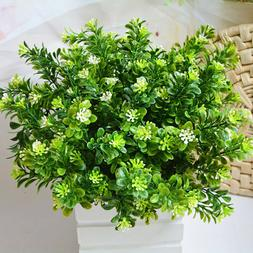 EP_ Fake Leaf Foliage Indoor Outdoor Artificial Plant Office