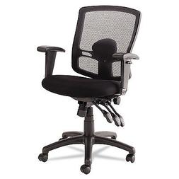 -- Etros Series Petite Mid-Back Multifunction Mesh Chair, Bl