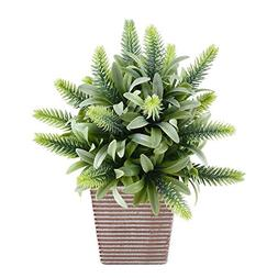 Fake Potted Plants, GTIDEA Artificial Greenery Bonsai Faux P