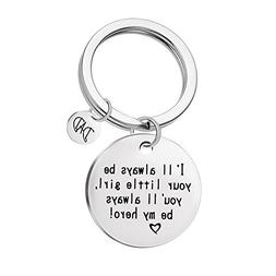 Hot Sale! Hongxin Father Day Gifts Tag Stamped Keychain I'Ll