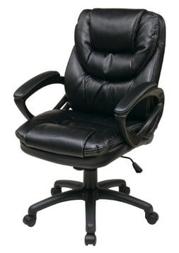 faux leather manager chair