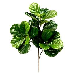 Fiddle Leaf Fig Tree Artificial Plant Decor Indoor Greenery