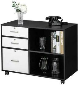 Filing Cabinets For Home Office Lateral File Cabinet Wood 3