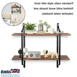 floating wall shelves shelf display rack storage