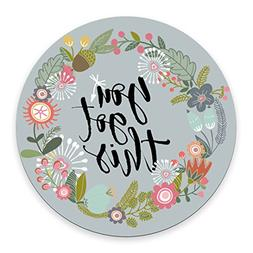 Floral Mouse Pad Motiavation Quote You Got This Neoprene Ins