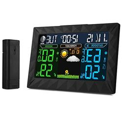iLifeSmart Digital Color Forecast Weather Station Alarm Cloc