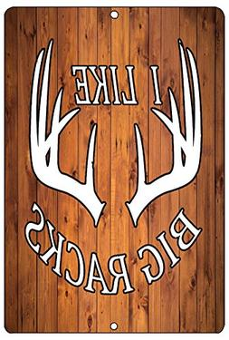 Rogue River Tactical Funny Hunting Metal Tin Sign Wall Decor