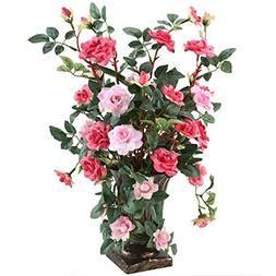 GTidea European Royal Style Design Artificial Potted Flowers