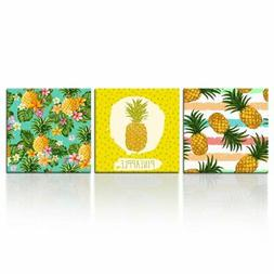Kreative Arts Hawaii Pineapple Tropical Fruit Wall Art Decor
