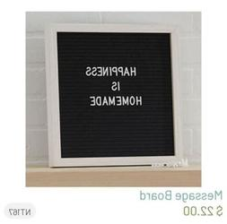 Home Decor Plastic Letter Board with Letters Numbers Symbol