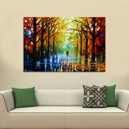 home office tree lover canvas mural art