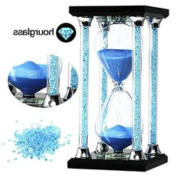 30 Minutes Hourglass Timer SZAT Romantic Crystal Diamond San