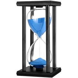 Hourglass Timer 30/60 Minutes Wood Sand Hourglass Clock for