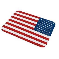 BIBITIME Independence Day America Flag Indoor Outdoor Entran