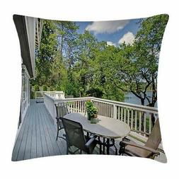 Indoor Throw Pillow Cases Cushion Covers Home Decor 8 Sizes