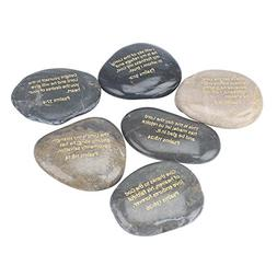 Stonebriar Inspirational Psalm Stones, Religious Gift Ideas