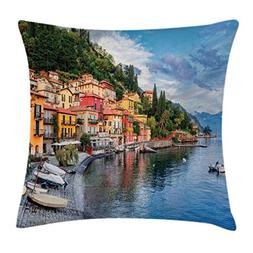 Ambesonne Italian Decor Throw Pillow Cushion Cover, Summer V