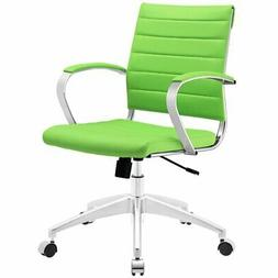 Jive Mid-Back Adjustable Office Chair, Bright Green