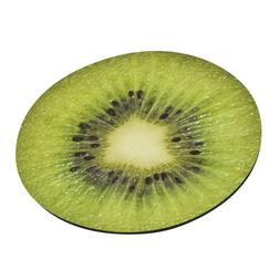 KIWI Fruit Round Mouse Pads Anti Slip Rubber Gaming Mouse ma