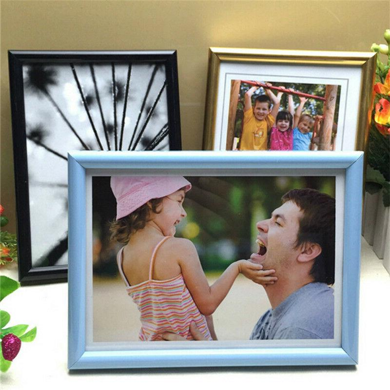 1-piece Room/Office Decor Wooden Wall Photo Frame in Multi-s
