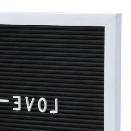 """10X10"""" Letter Board Sign Message Home Office Decor"""