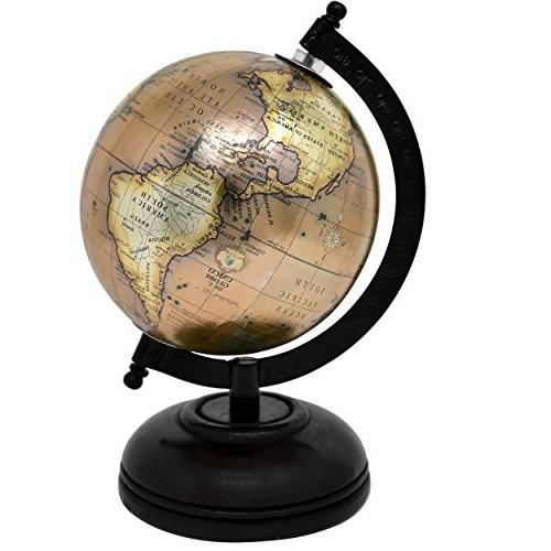 2 Glossy Globes for Office 5 Diameter by