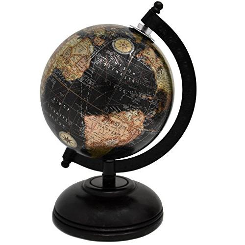2 Decorative Globes for Home Office Diameter by