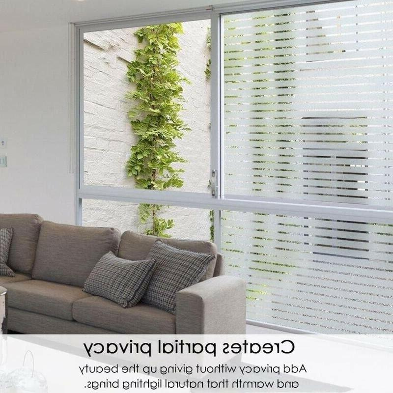 2M Frosted Glass Film Static Sticker Privacy Home Decor