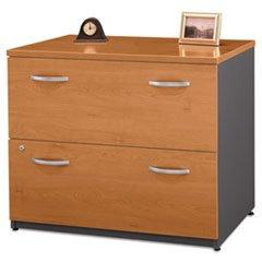 """** 36""""W 2-Drawer Lateral File  Series C Natural Cherry **"""