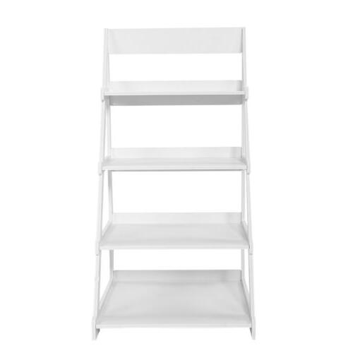 4-Tier Bookcase Leaning Home Office