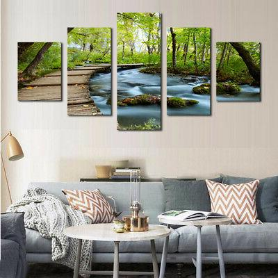 5pcs painting picture canvas wall art print