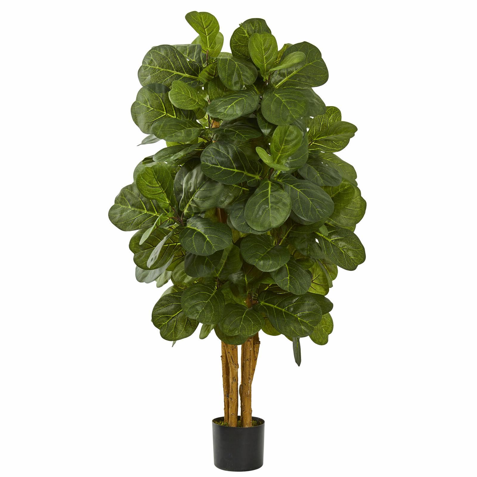 6 ft artificial plant fig tree fiddle