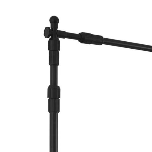 8' x 10' Step and Repeat Adjustable Telescopic Backdrop