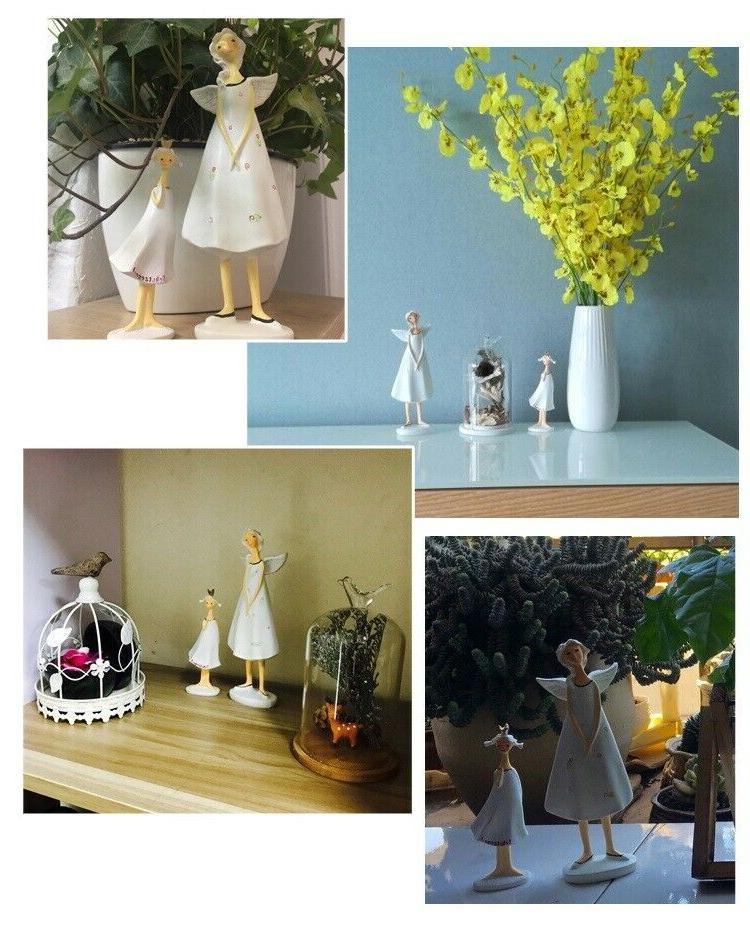8in Figurines Angels Room Fairy Statues Office Decor