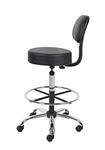 Boss Office Products Be Drafting Stool Black