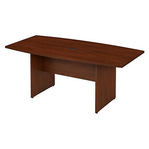 Bush Business Furniture 72W x 36D Boat Shaped Conference Tab