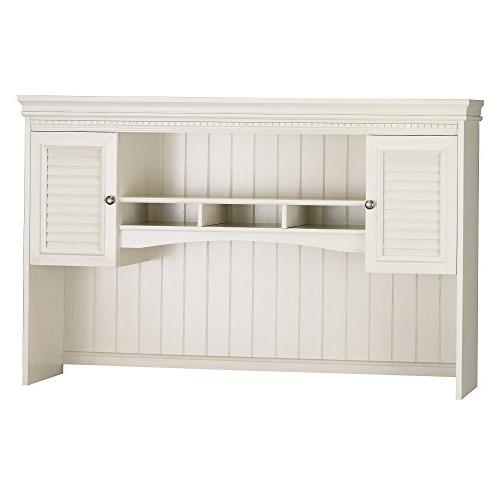 Bush Furniture Fairview for Shaped in White