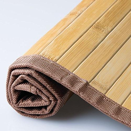 "InterDesign Bamboo Mat Ideal for Offices 20"" 33"", Natural"