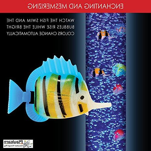 """Sensory - Fish""""Tank"""" - Floor Lamp 7 Changing Stimulating Home Office Décor - by"""