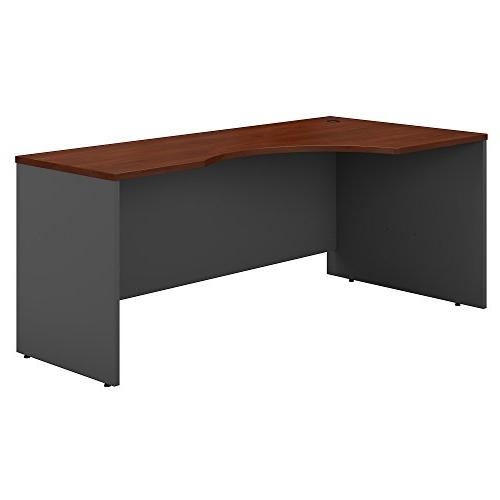 Series C 72W Left Handed Corner Desk in Hansen Cherry