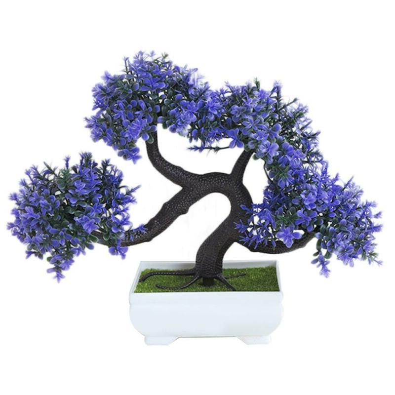 Artificial Plant Mini Pine Tree Greeting Home