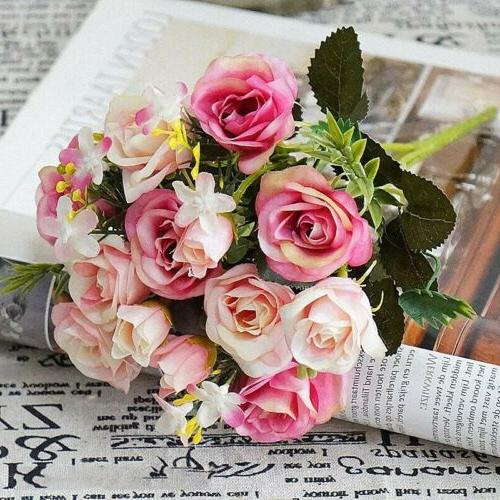 Artificial Roses Flower Home Party office