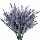 GTidea Artificial Flowers, 4Pc Lavender, Bridal Wedding Home
