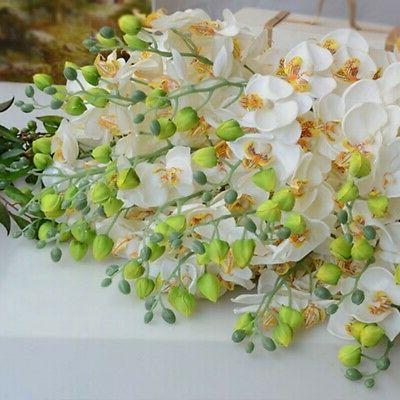 Artificial Orchid Flowers 8 Home Decor
