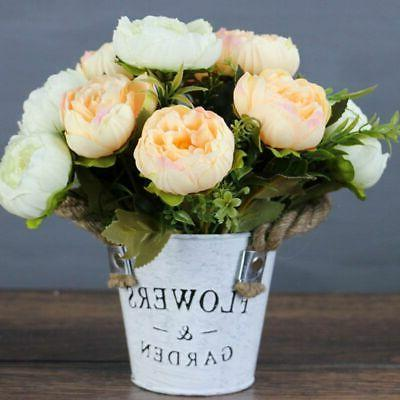 Artificial Peony Flowers Bouquets