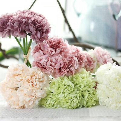 Bouquet Shop Artificial 5 Head Flower New