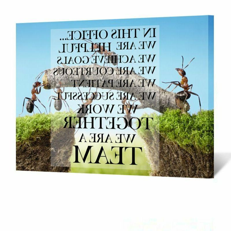 Kreative Arts Canvas Quotes Office Inspirational Sayings Wor